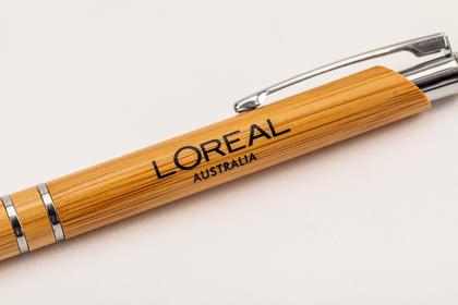 Napier Bamboo Pen for L'Oreal