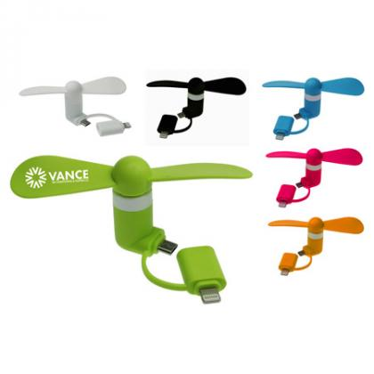 best promotional items to give away - smartphone fan