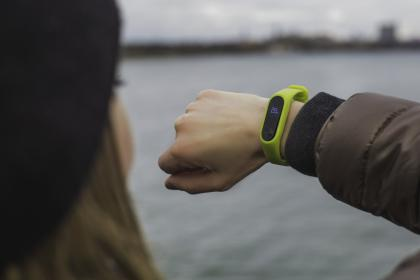 best promotional items to give away - wrist fitness trackers