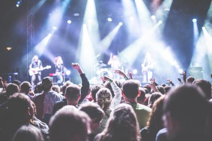 how to increase brand awareness - music gig
