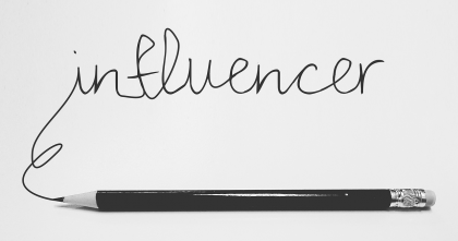 how to increase brand awareness - influencer marketing pencil